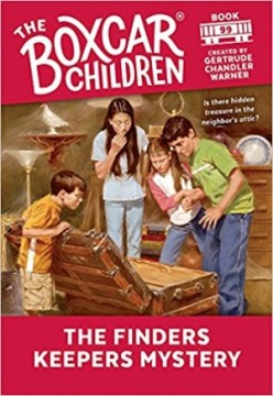 The Finders Keepers Mystery created by Gertrude Chandler Warner