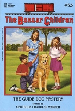 The Guide Dog Mystery created by Gertrude Chandler Warner